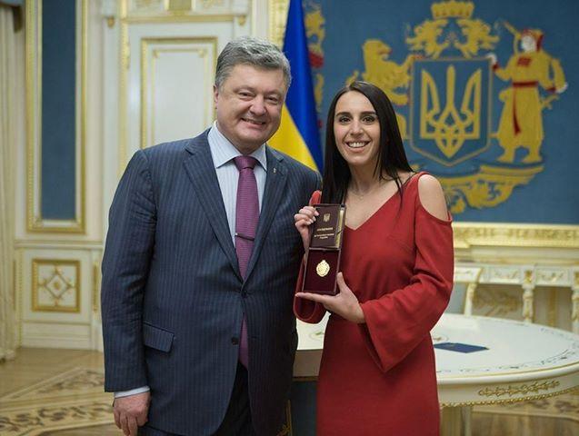 Джамала получила звание народной артистки Украины