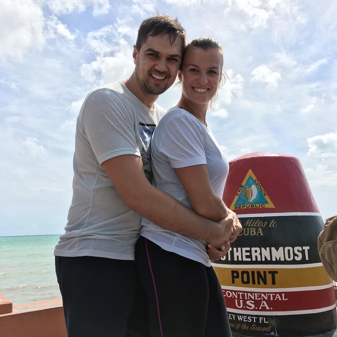 Константин Евтушенко с женой