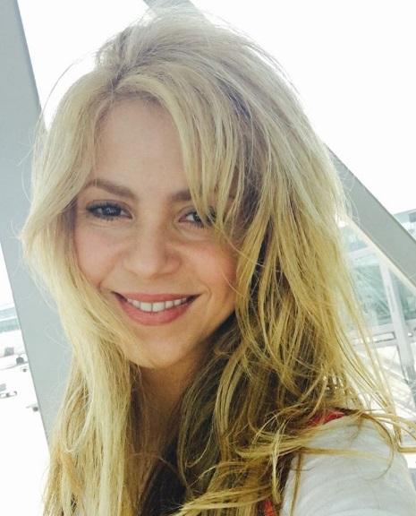 Шакира прилетела во Францию, чтобы поддержать мужа на ЕВРО-2016