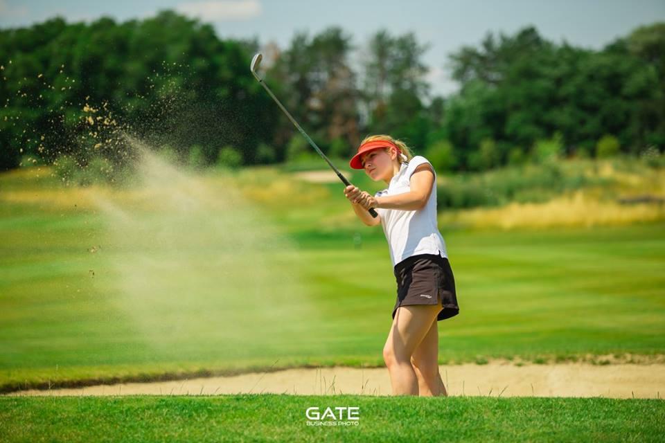 День леди в стиле  гольф