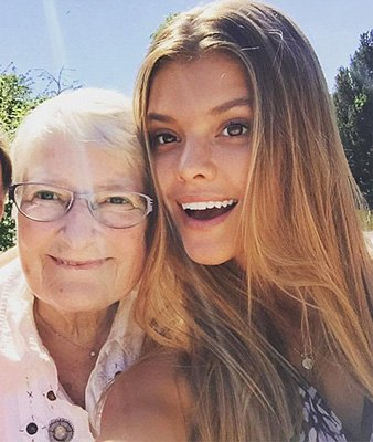 Бабушка Нины Агдал пригрозила бойфренду внучки Леонардо ДиКаприо
