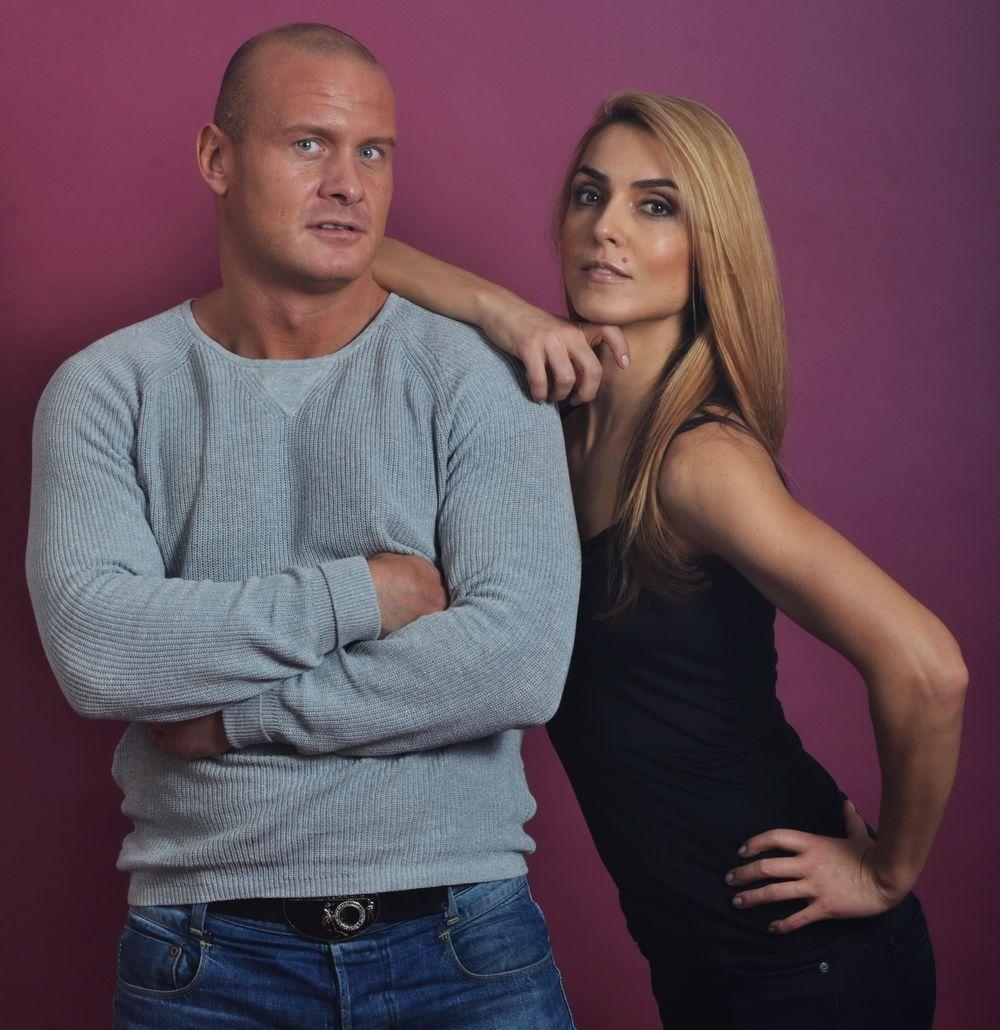 Вячеслав Узелков и Марина Боржемская-Узелкова
