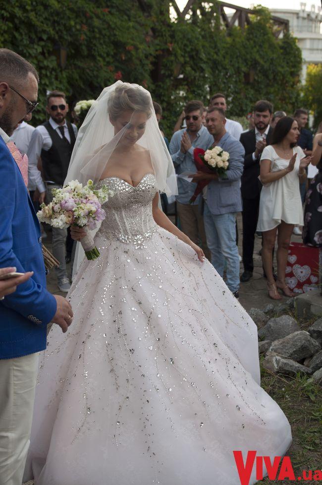 Cвадебные платья Lorange для Полины Логуновой