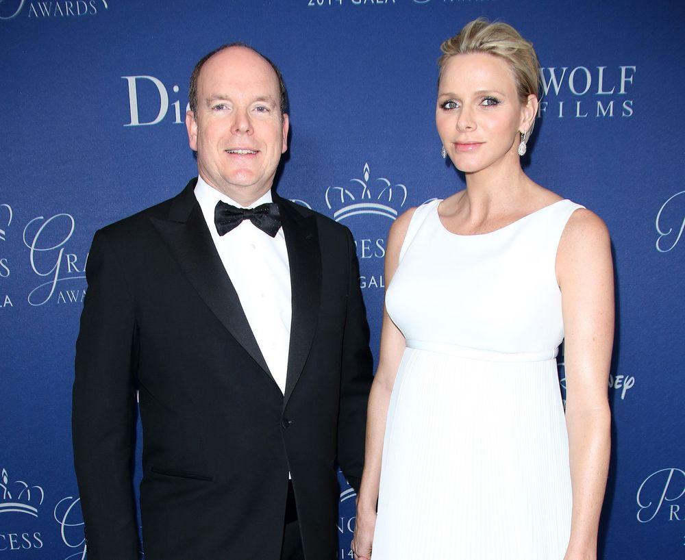 князь Монако Альбер II и княгиня Монако Шарлен