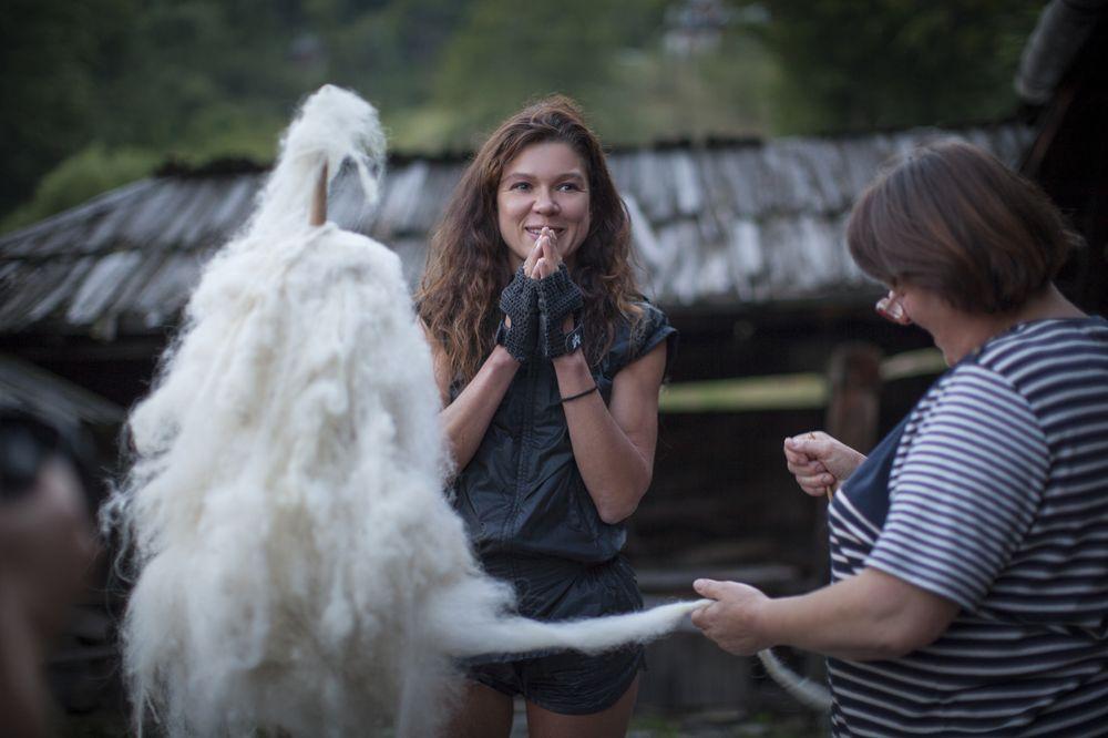 Руслана получила уникальный подарок в Карпатах