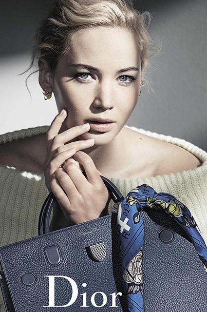 Стильная и нежная Дженнифер Лоуренс блистает в фотосессии для Dior