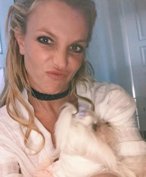 Бритни Спирс на дне рождении