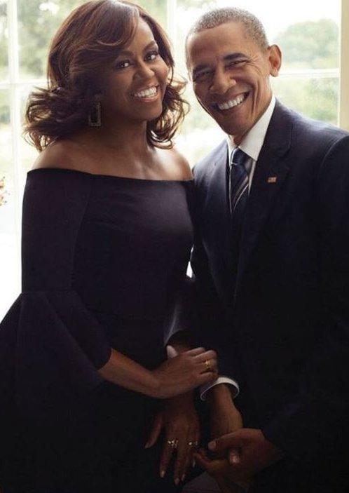 Это любовь: Мишель и Барак Обама вместе снялись в романтической фотосессии
