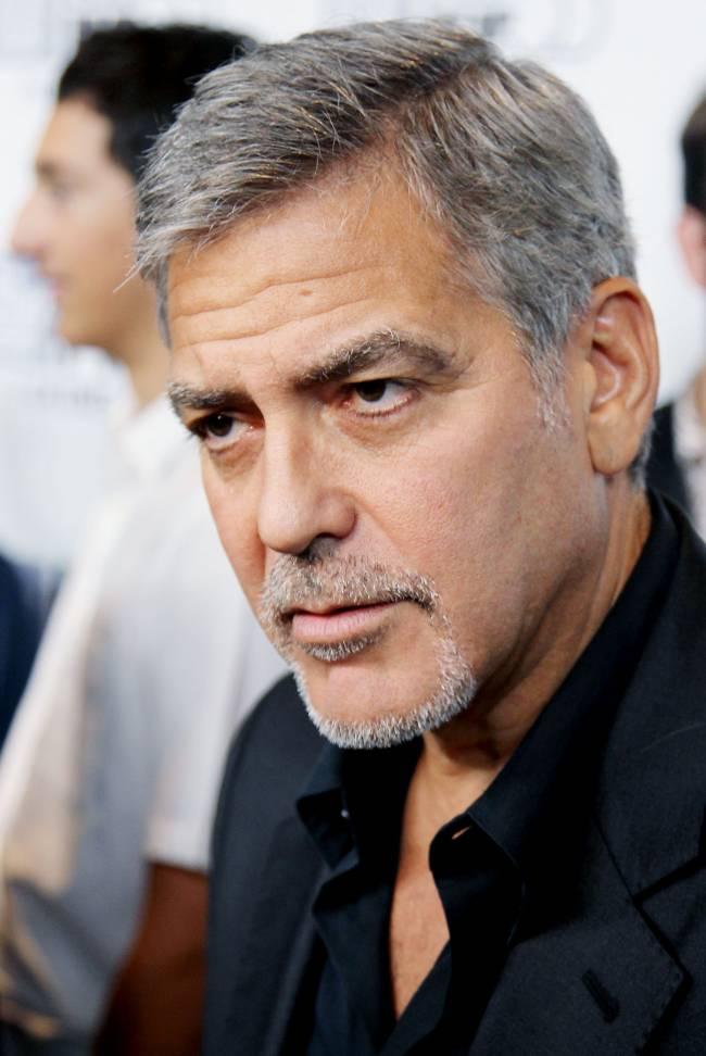 Джордж Клуни шокирован новостью о разводе Анджелины Джоли и Брэда Питта