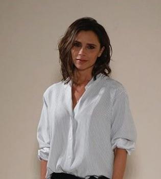 """Виктория Бекхэм: """"Харпер дает мне советы по поводу одежды"""""""