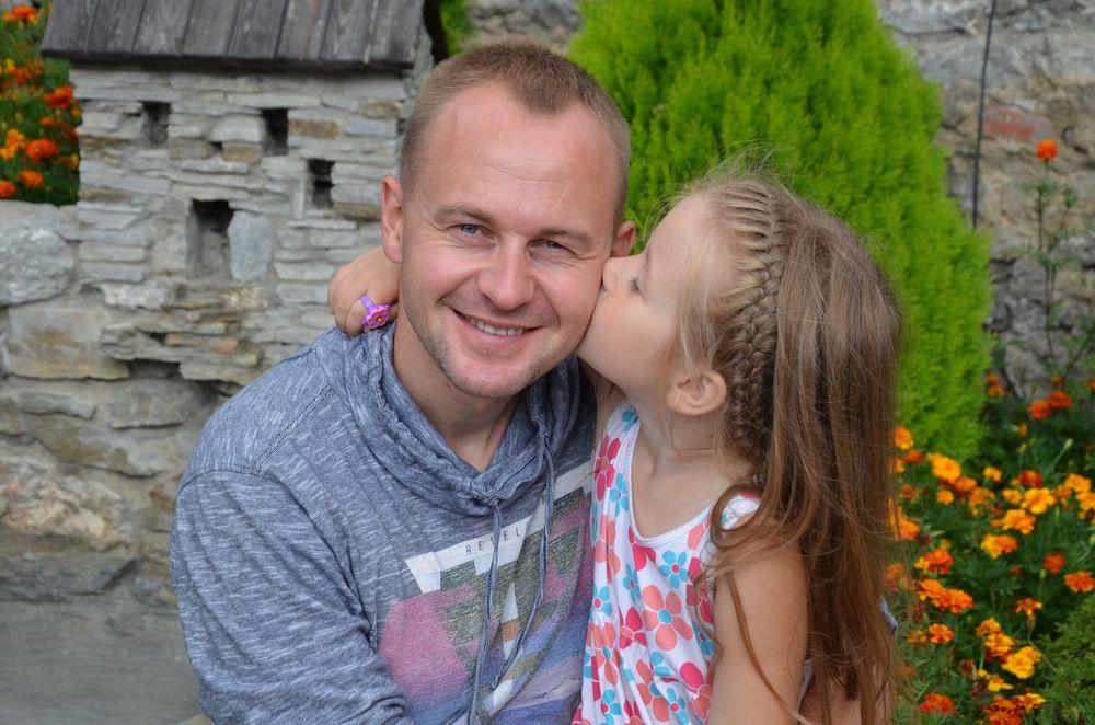 Павел Табаков с дочерью Настей