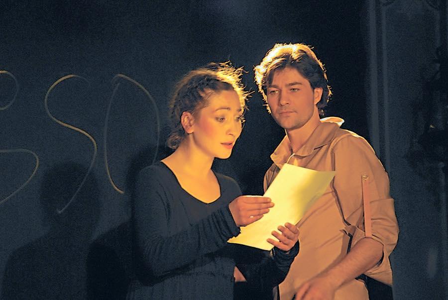 Евгений Нищук с женой Оксаной