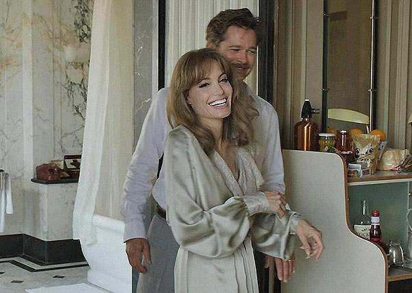 """Анджелина Джоли и Брэд Питт не общались еще на съемках """"Лазурного берега"""" - СМИ"""
