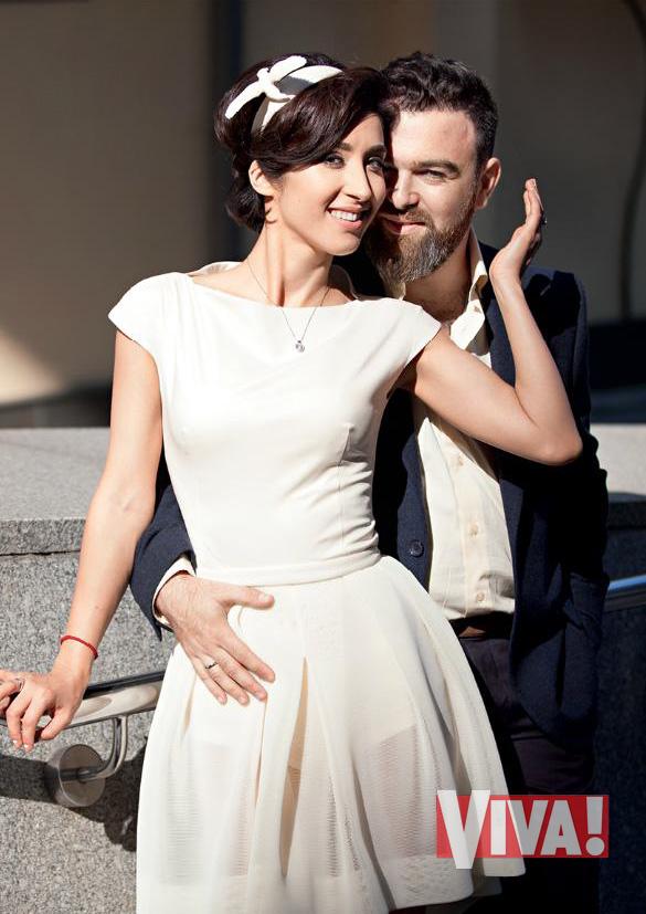 Анна Завальская впервые появилась на сцене вместе со своим мужем