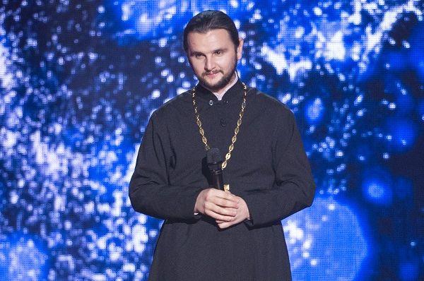 Священник на проекте Голос країни 7