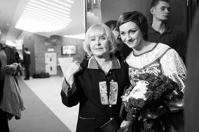 Ада Роговцева и Римма Зюбина