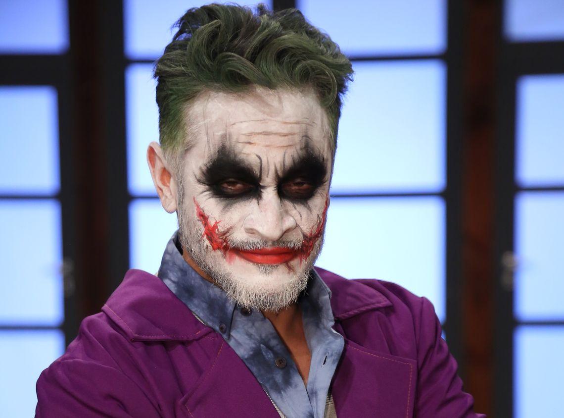 Эктор Хименес-Браво в образе Джокера