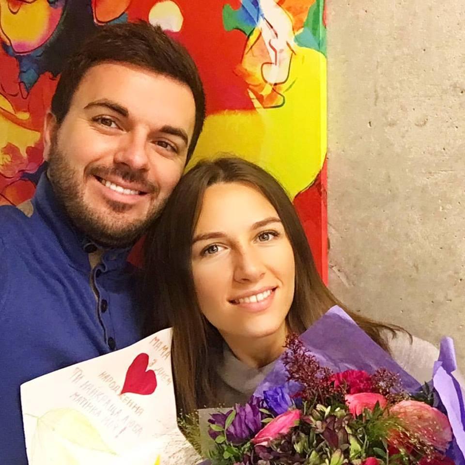Григорий Решетник с женой Кристиной