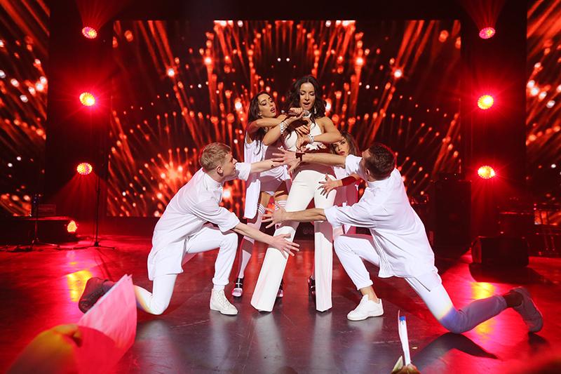 Еврохит собрал на одной сцене всех участников Евровидения от Украины