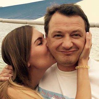 Марат Башаров и его возлюбленная