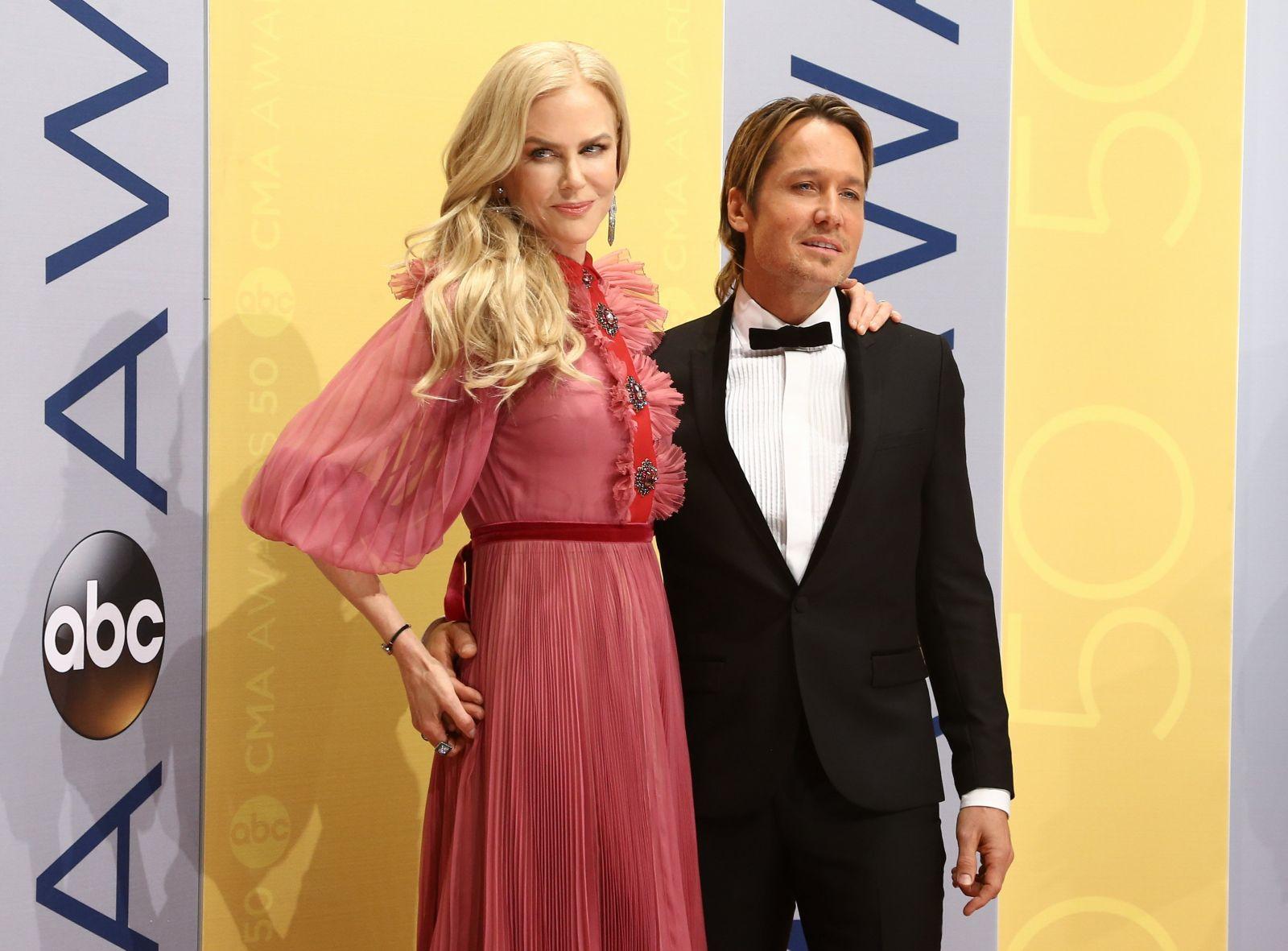 Николь Кидман и ее муж 2016