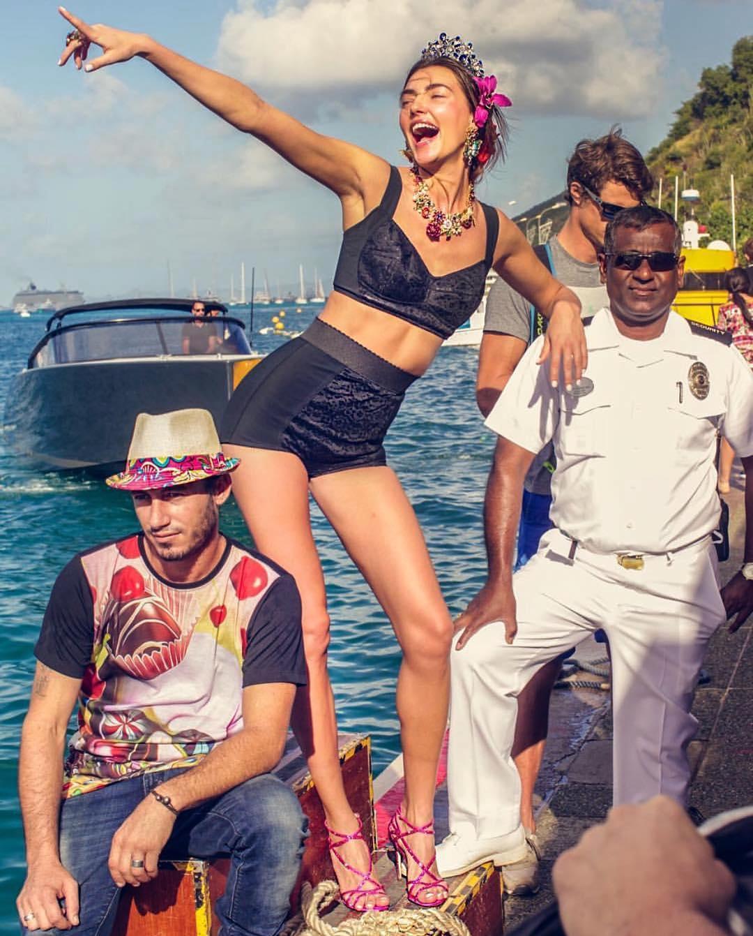 Героиней новой кампании Dolce Gabbana стала украинская модель