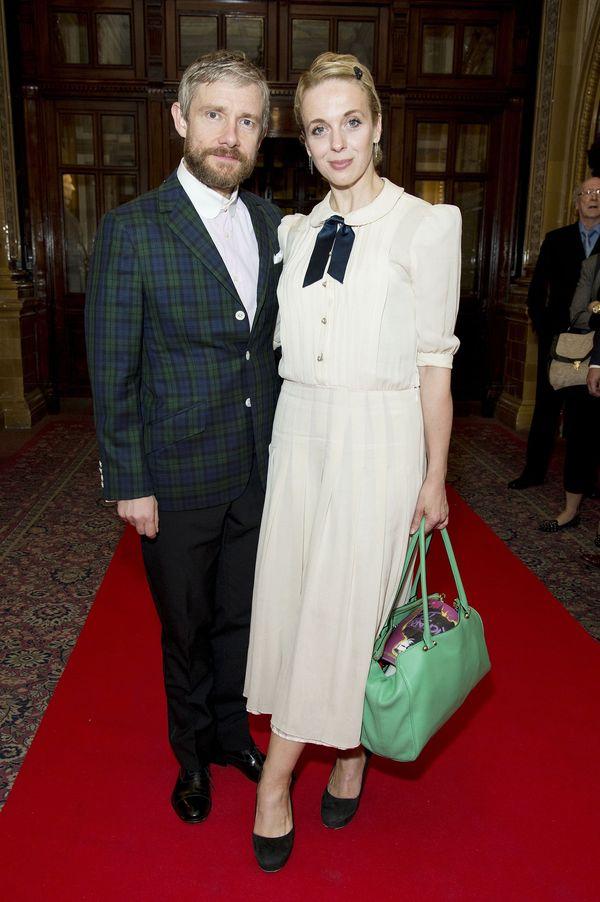 Мартин Фриман с бывшей женой