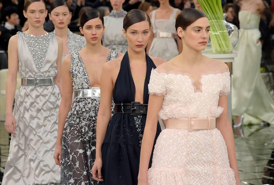 Показ Chanel Haute Couture весна-лето 2017: ода женщине