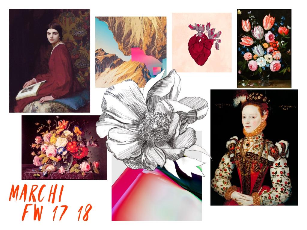 Накануне Ukrainian Fashion Week бренд Marchi представил мудборд