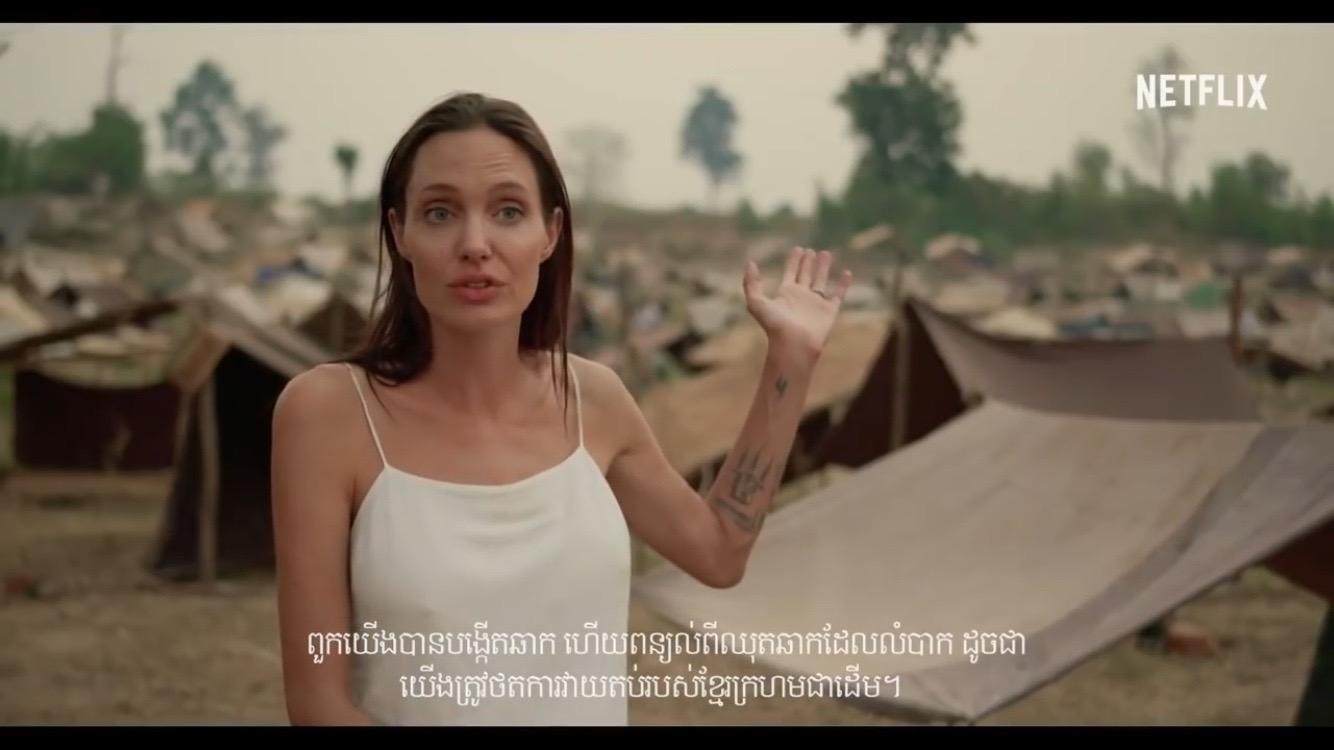 Похудевшая Анджелина Джоли