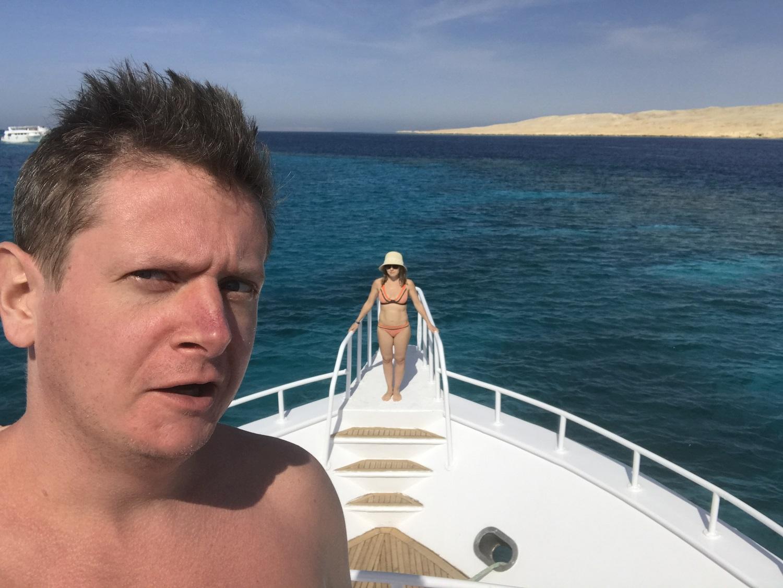 Евгений Сморигин отдохнул с женой в Египте