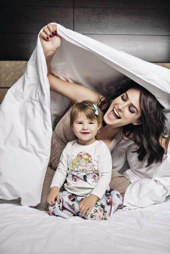 Маша Собко с дочерью