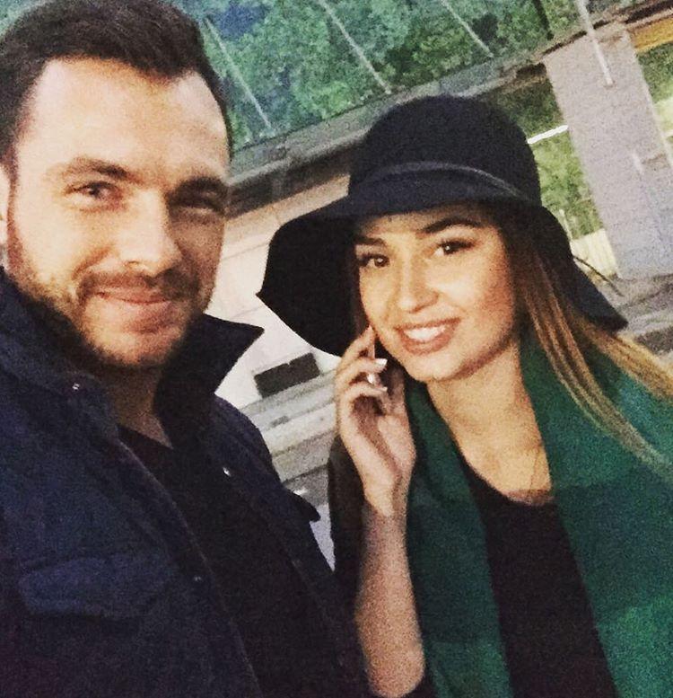 Елена Головань и Сергей Мельник