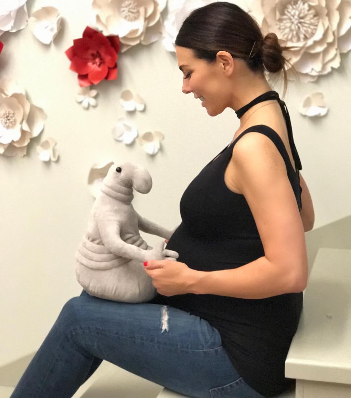 Анна Седокова беременна фото