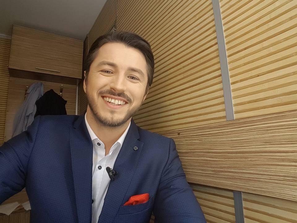 Сергей Притула на Евровидении