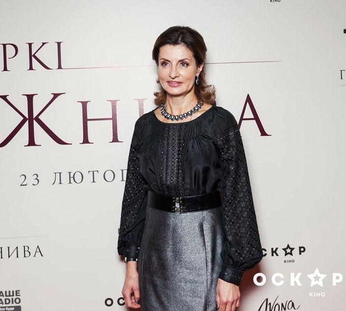 Марина Порошенко пришла на премьеру фильма о Голодоморе