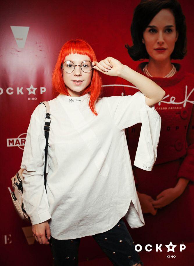 Светлана Тарабарова на премьере фильма