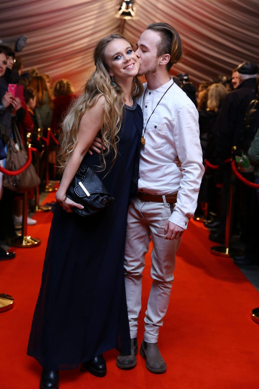 Лавика и Вова Борисенко на церемонии