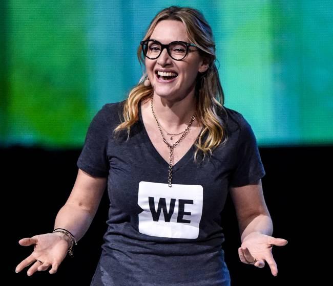 В лосинах и обтягивающей футболке: Кейт Уинслет показала недостатки фигуры