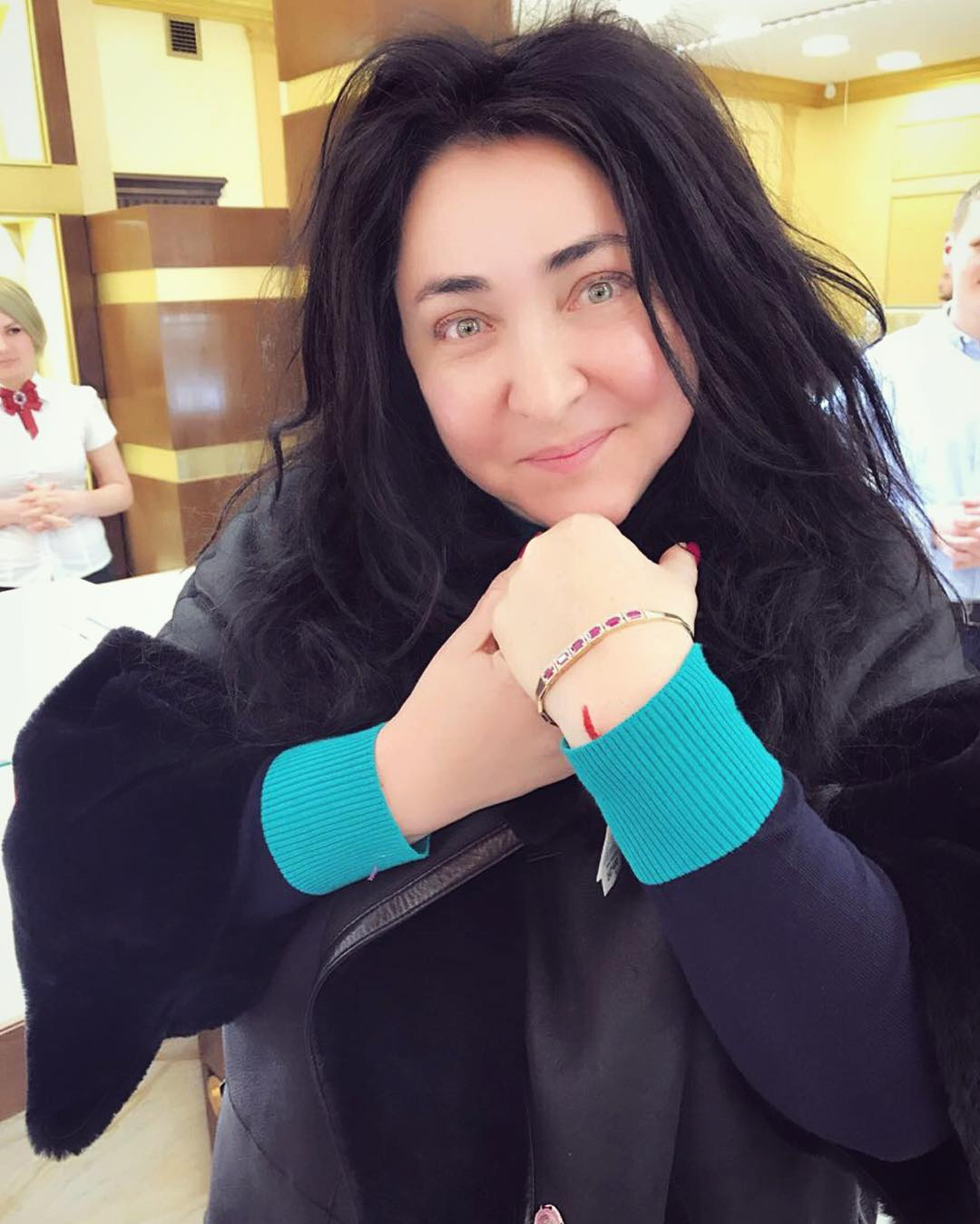 Лолита Миялвская показала свою дочь