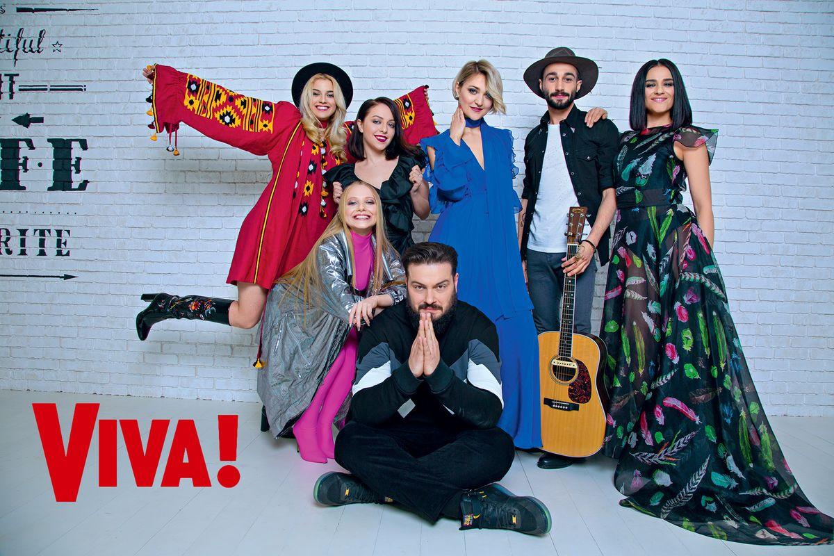 участники шоу Голос країни 7 снялись в яркой фотосессии для Viva!