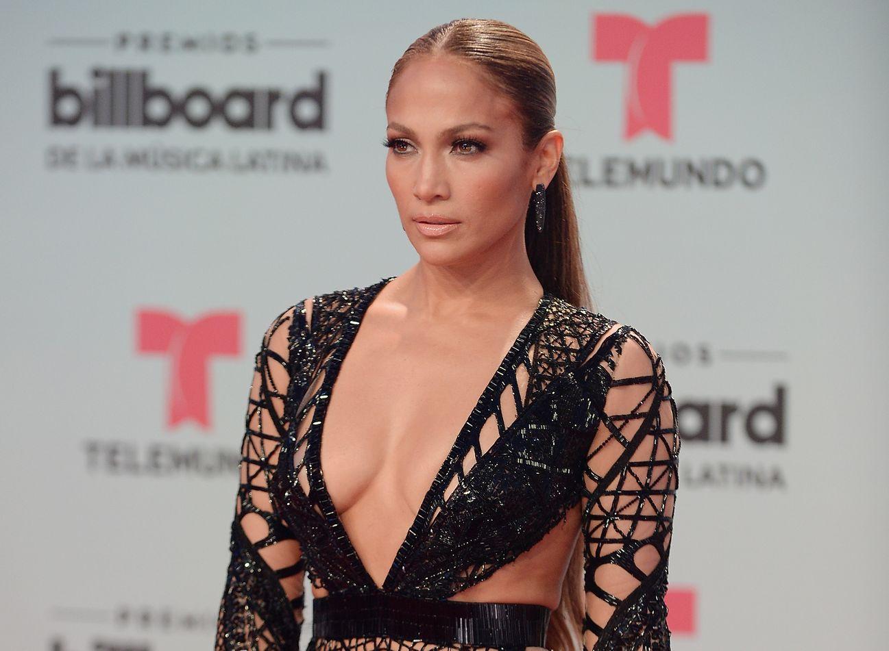 Дженнифер Лопес на церемонии Billboard Latin Music Awards