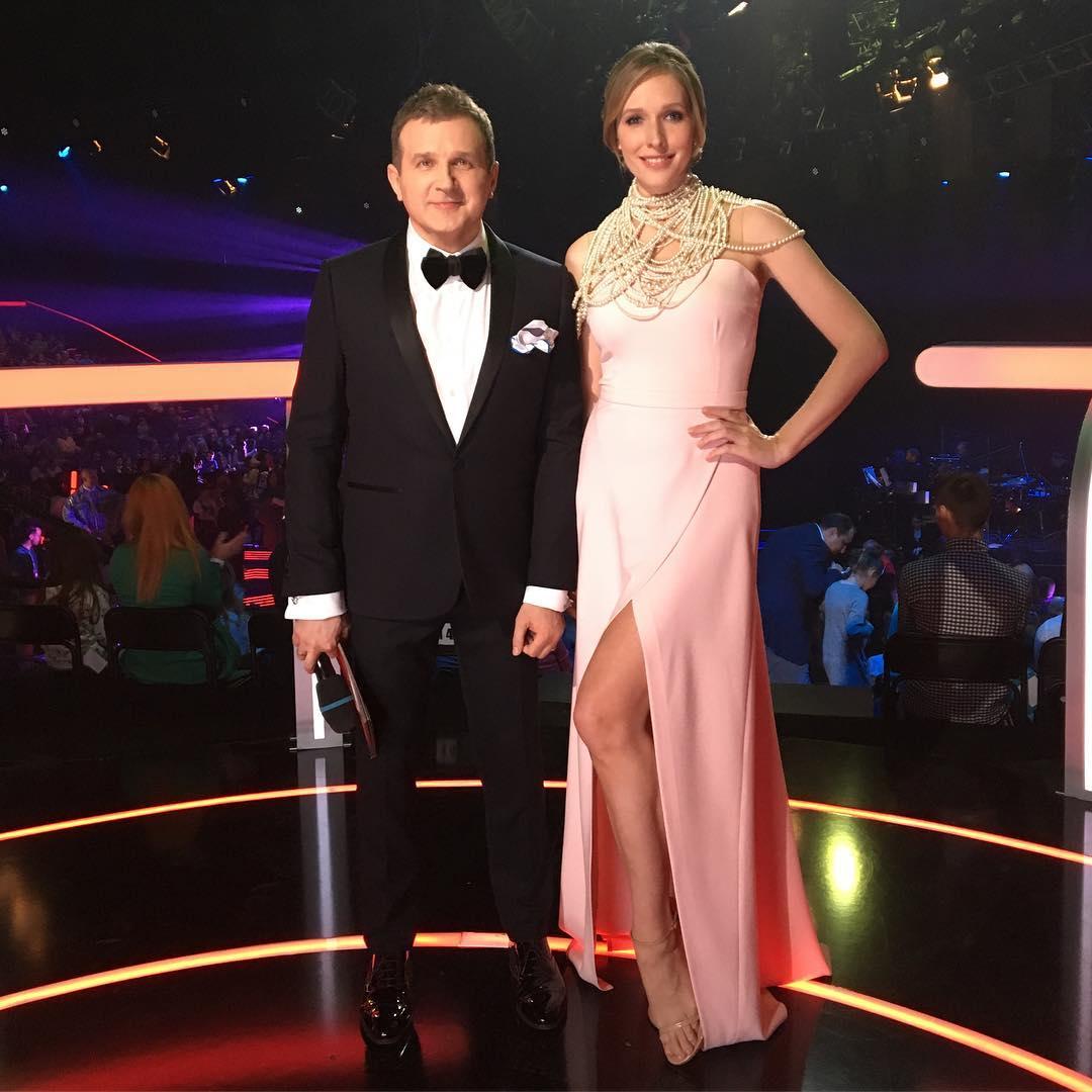 Катя Осадчая и Юрий Горбунов 2017