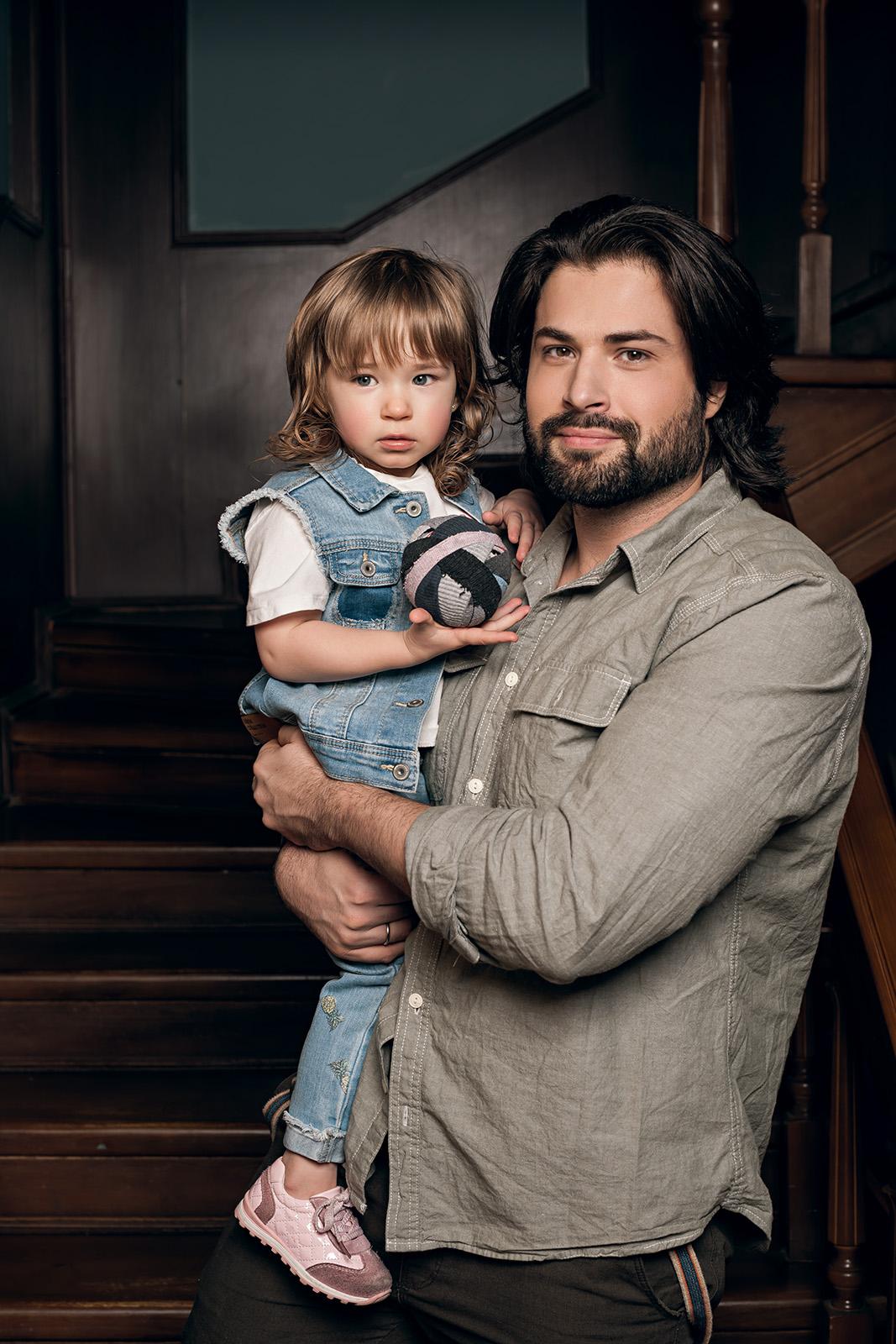 Владимир Ткаченко снялся в фотосессии с дочерью Соломией