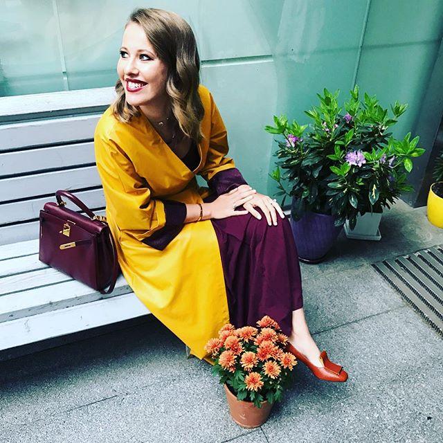 Ксения Собчак прокомментировала вторую беременность