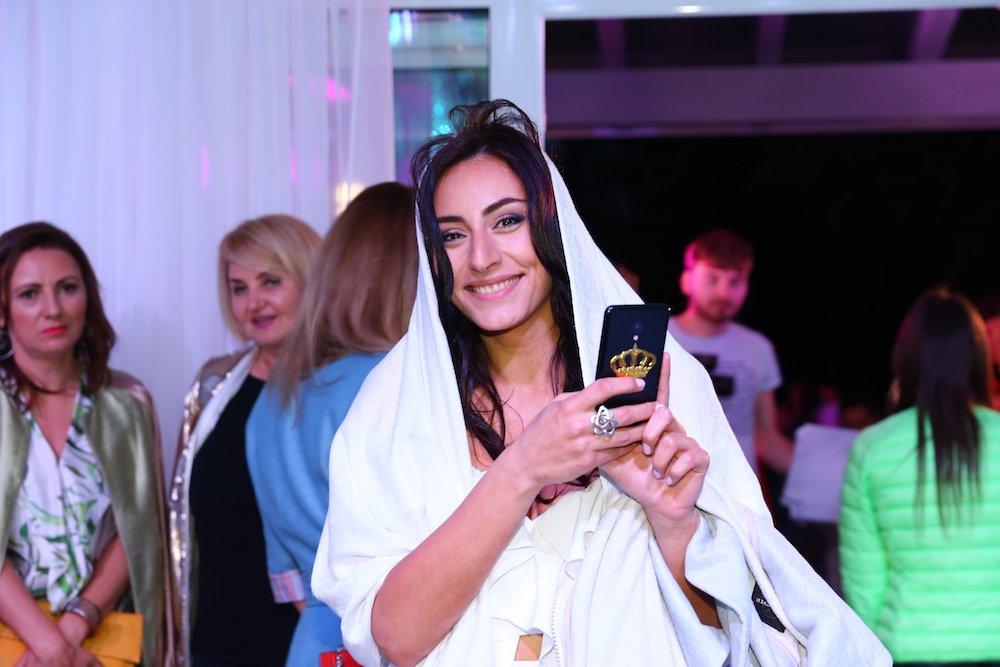 Роза Аль-Намри на вечеринке Вива