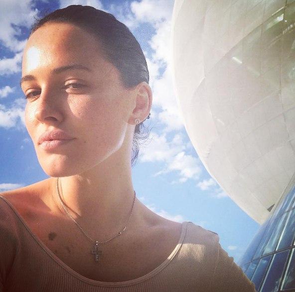 Даша Астафьева в Италии