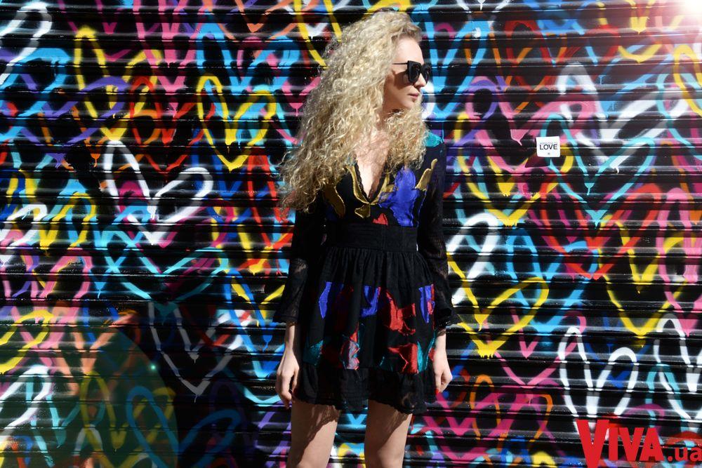 Анастасия Иванова снялась в уличной фотосессии на Манхэттене