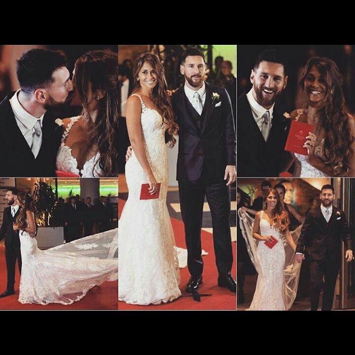 Свадьба Лионеля Месси