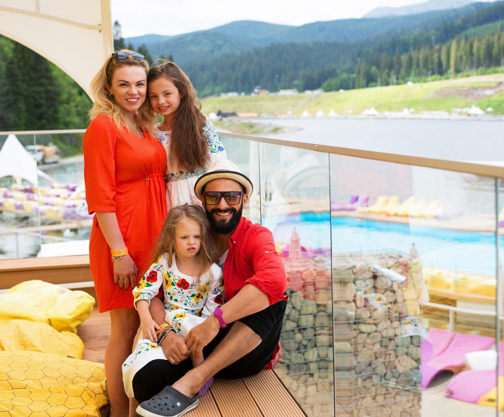 Kishe отдохнул с семьей в Буковеле